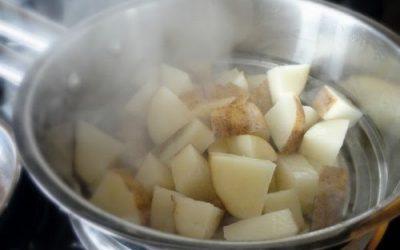 Дышать над картофелем
