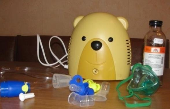 ингалятор мишка компрессорный детский