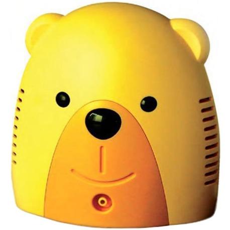 ингалятор небулайзер мишка компрессорный детский без сумки