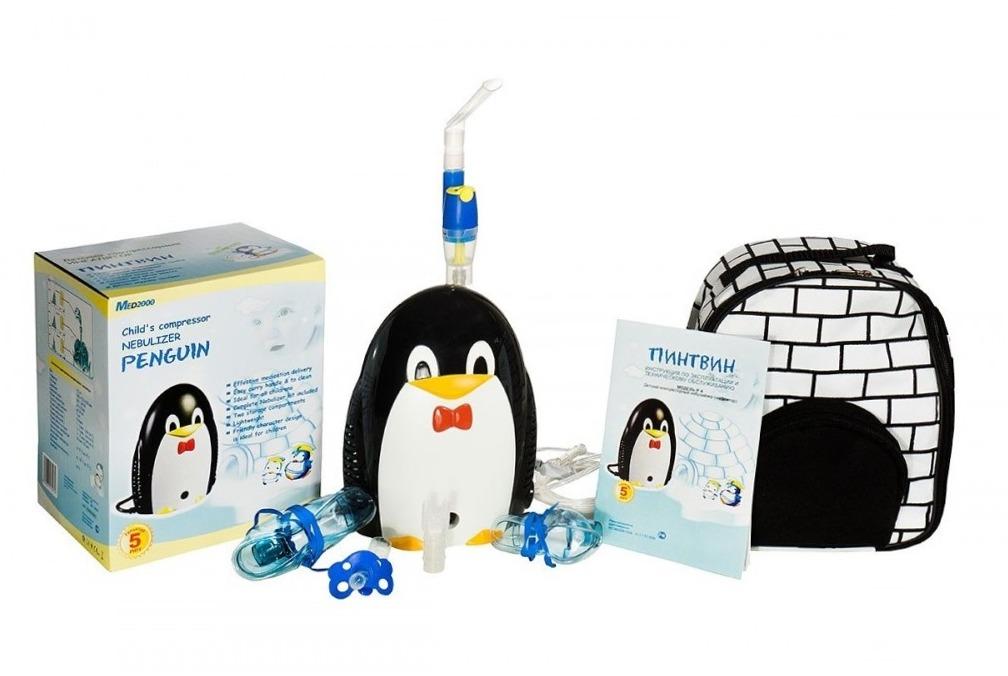 ингалятор компрессорный детский пингвин