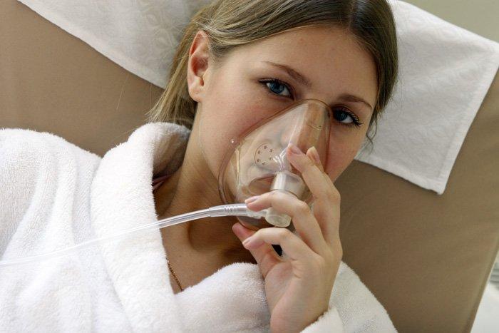 кислородная ингаляция в домашних условиях