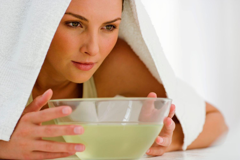 ингаляции при насморке с эфирными маслами
