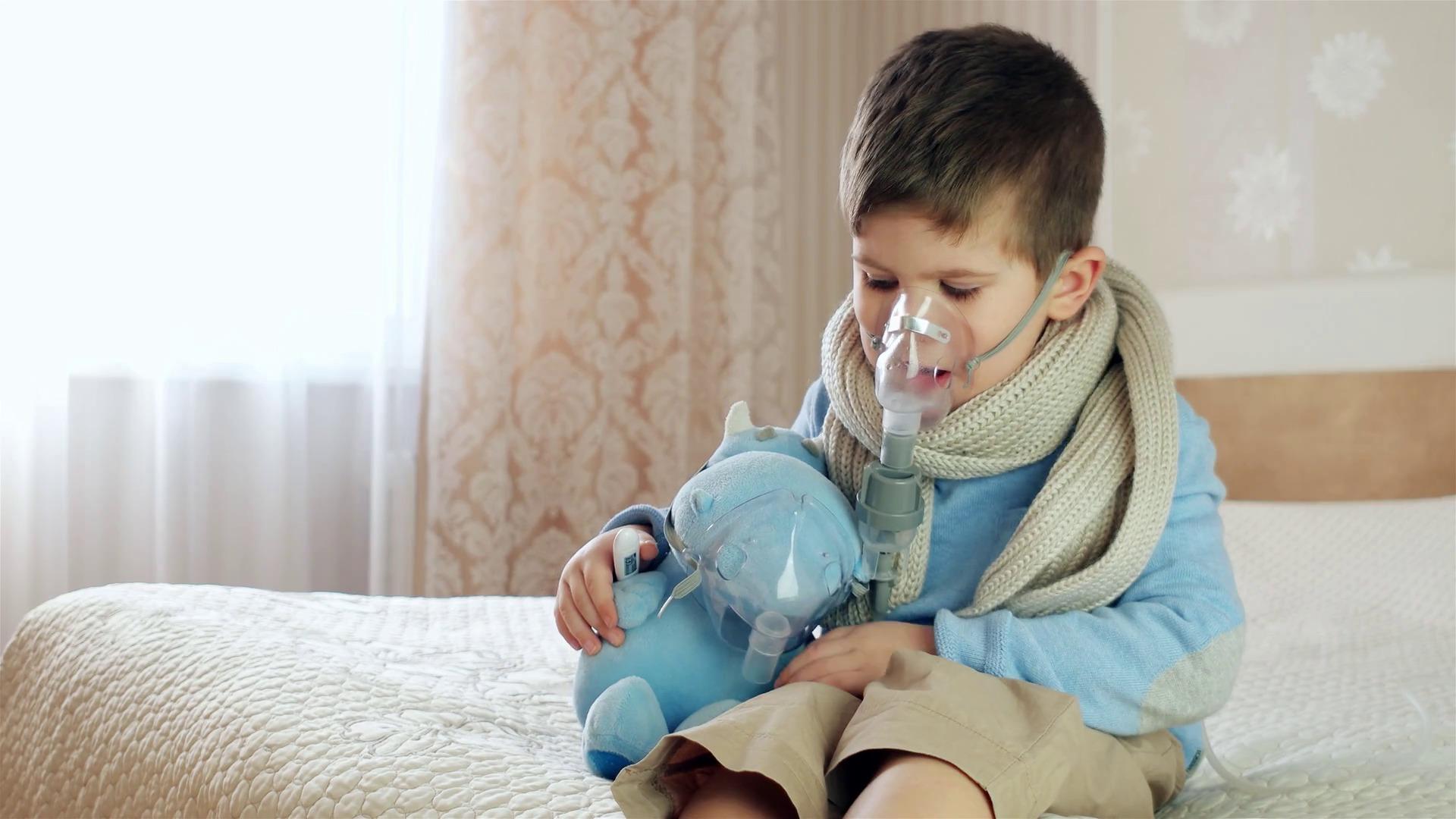 можно ли ребенку дышать над горячим паром