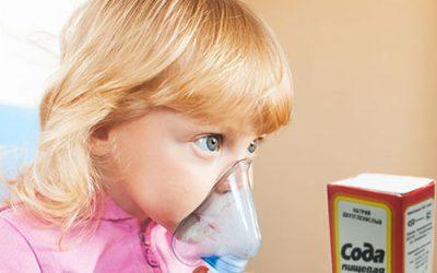 сода для детской ингаляции