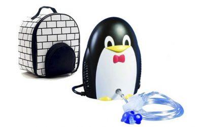 детский компрессорный ингалятор пингвин med2000